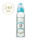 小獅王辛巴 蘿蔓晶鑽標準玻璃大奶瓶(240ml)-3色可選