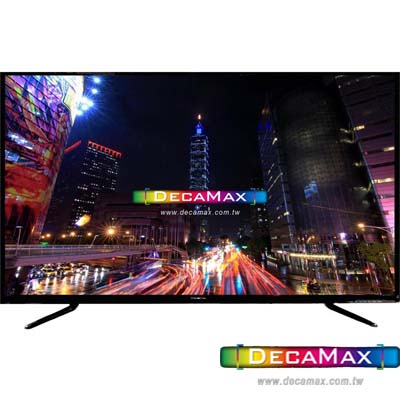DECAMAX 43吋 UHD 4K 液晶顯示器+數位視訊盒 DM-4367UHD
