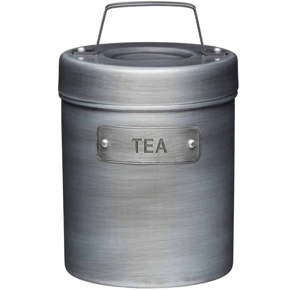 KitchenCraft 工業風收納罐(茶)