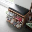 Home Feeling 皮革穿鞋椅/椅凳(2色)-60X30X43.5cm-DIY