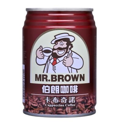 金車 伯朗卡布奇諾咖啡(240mlx24罐)