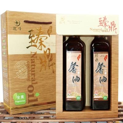 【蔥媽媽嚴選】水飛工法白芝麻油x2(500ml/瓶/禮盒)