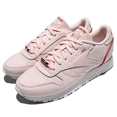 Reebok 休閒鞋 CL LTHR HW 女鞋