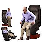 【Sun Pin】Hermann赫爾曼伯爵半厚牛皮電動起身椅(雙馬達)-深棕
