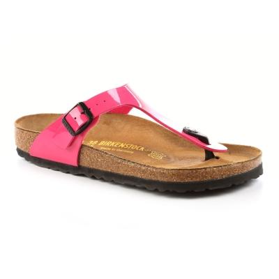 勃肯BIRKENSTOCK 845601吉薩 夾腳拖鞋(桃紅)