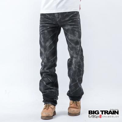 BIG TRAIN 暗黑骷髏2代垮褲-黑