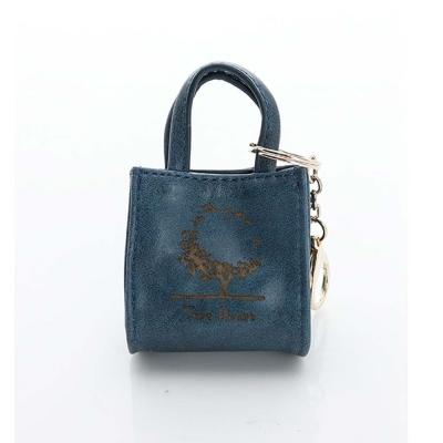 LouiseC-MINI-TOTE鑰匙包-藍色-34C13-0033A09