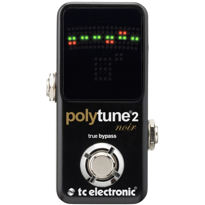 tc electronic Polytune 2 Noir Mini 迷你地板型調音器