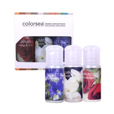 colorsea 卡樂絲水溶性複方香薰精油16mlx3入(茉莉花/紫羅蘭/保加利亞玫瑰)