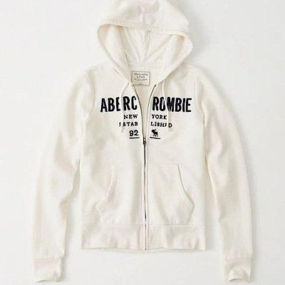 AF a&f Abercrombie & Fitch 外套 白色 0530