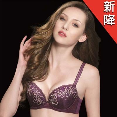 莎露 光影系列C-E 罩杯內衣(歐風紫)