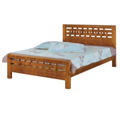 品家居 陶德 6 尺雙人加大床台(不含床墊)- 182 x 197 x 100 cm免組