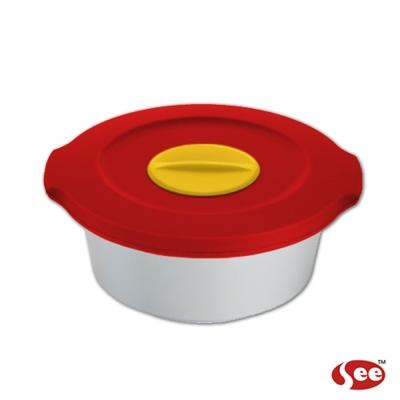 Breere 會呼吸的保鮮盒140ml圓形款(4色)
