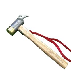 CAMPERSON 戶外便攜304不鏽鋼銅錘 營釘槌 露營營錘(可拔釘)