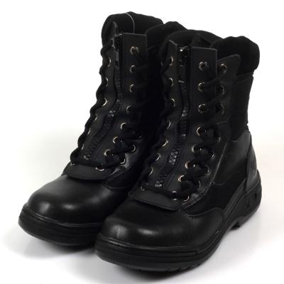 Kai Shin 高筒安全工作鞋 黑色