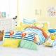Ania Casa 台灣製 100%純棉 - 單人床包被套三件組 (快樂假期) product thumbnail 1