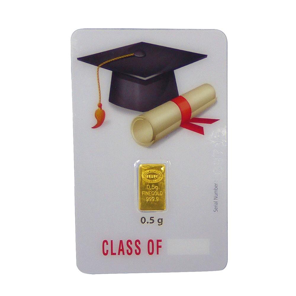Istanbul-黃金條塊0.5公克畢業禮物