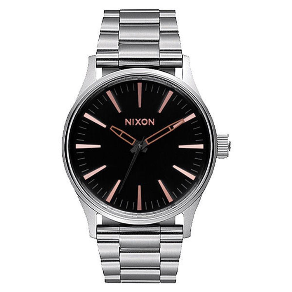 NIXON SENTRY 38 SS 極簡復刻化時尚腕錶-A4502064/38mm