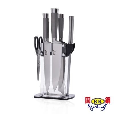固鋼 職人料理系列-不鏽鋼刀具8件組