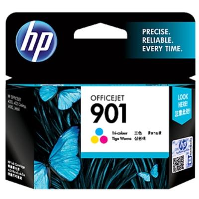 HP CC656AA #901彩色原廠墨水匣