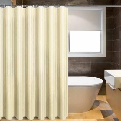 LISAN特級加厚防水浴簾A-012經典不凡 品味超凡-居家米