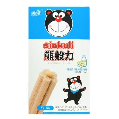 雪之戀-熊穀力-豆乳味-240g