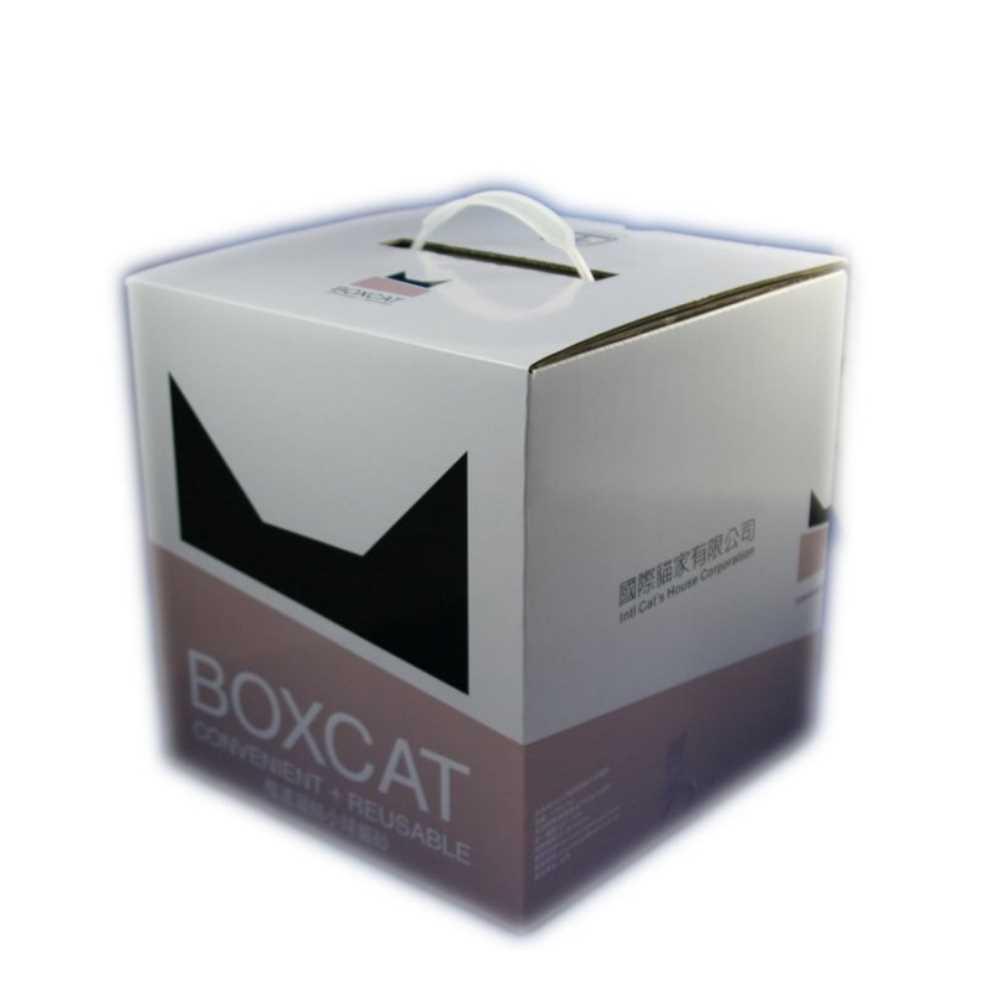 國際貓家BOXCAT 灰標-極速凝結小球砂 12L(10kg) 兩入組