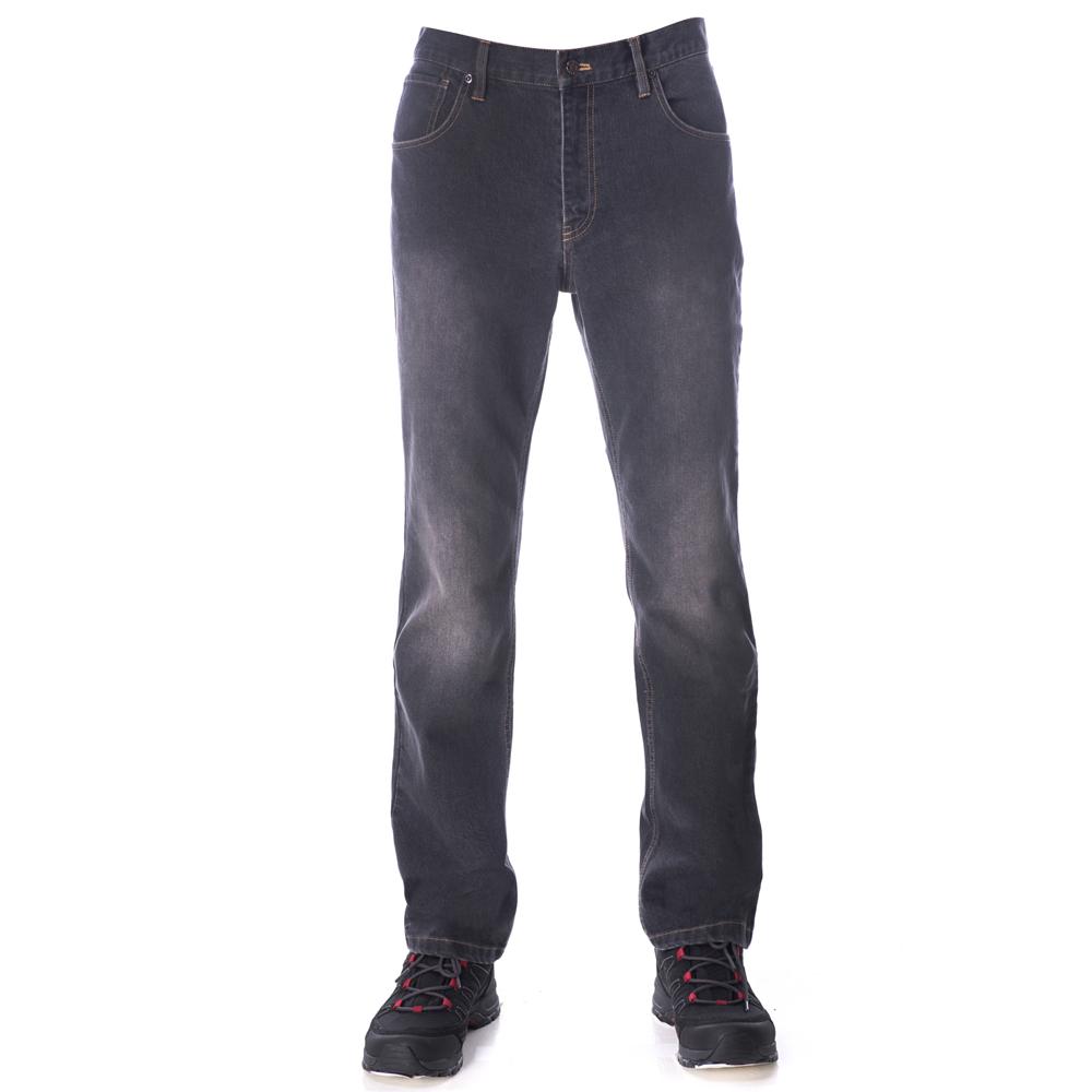 【hilltop山頂鳥】男款THERMOLITE保暖透氣牛仔褲H31MJ7黑