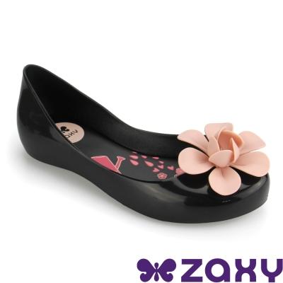 Zaxy 巴西 女童 NEW GARDEN休閒娃娃鞋(黑)