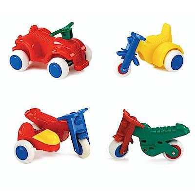 瑞典Viking Toys維京玩具-摩托車 2 入組(款式隨機)