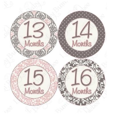 1-2歲專用-寶寶成長記錄妙衣貼-摩洛哥風情