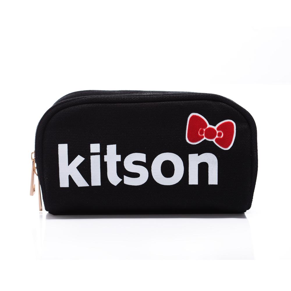 kitson x Ribbon Hello Kitty Pouch (黑色)