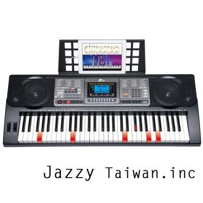 JAZZY JZ-680 魔光電子琴 61鍵 鋼琴力道+力度感應 可麥克風、手機、MIDI