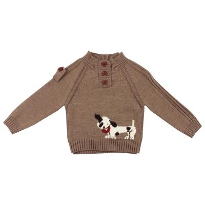 愛的世界-pappa-ciccia-半高領混羊毛毛衣-4-8歲