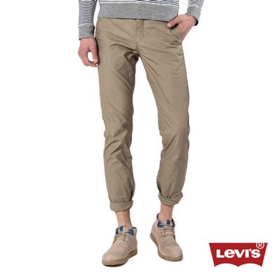 Levis 511 純棉卡其色修身窄管休閒褲