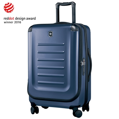 VICTORINOX 瑞士維氏Spectra 2.0輕量硬殼可擴充27吋行李箱-藍