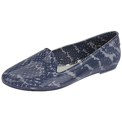 MELISSA+吳季剛蟒蛇紋樂福鞋-藍