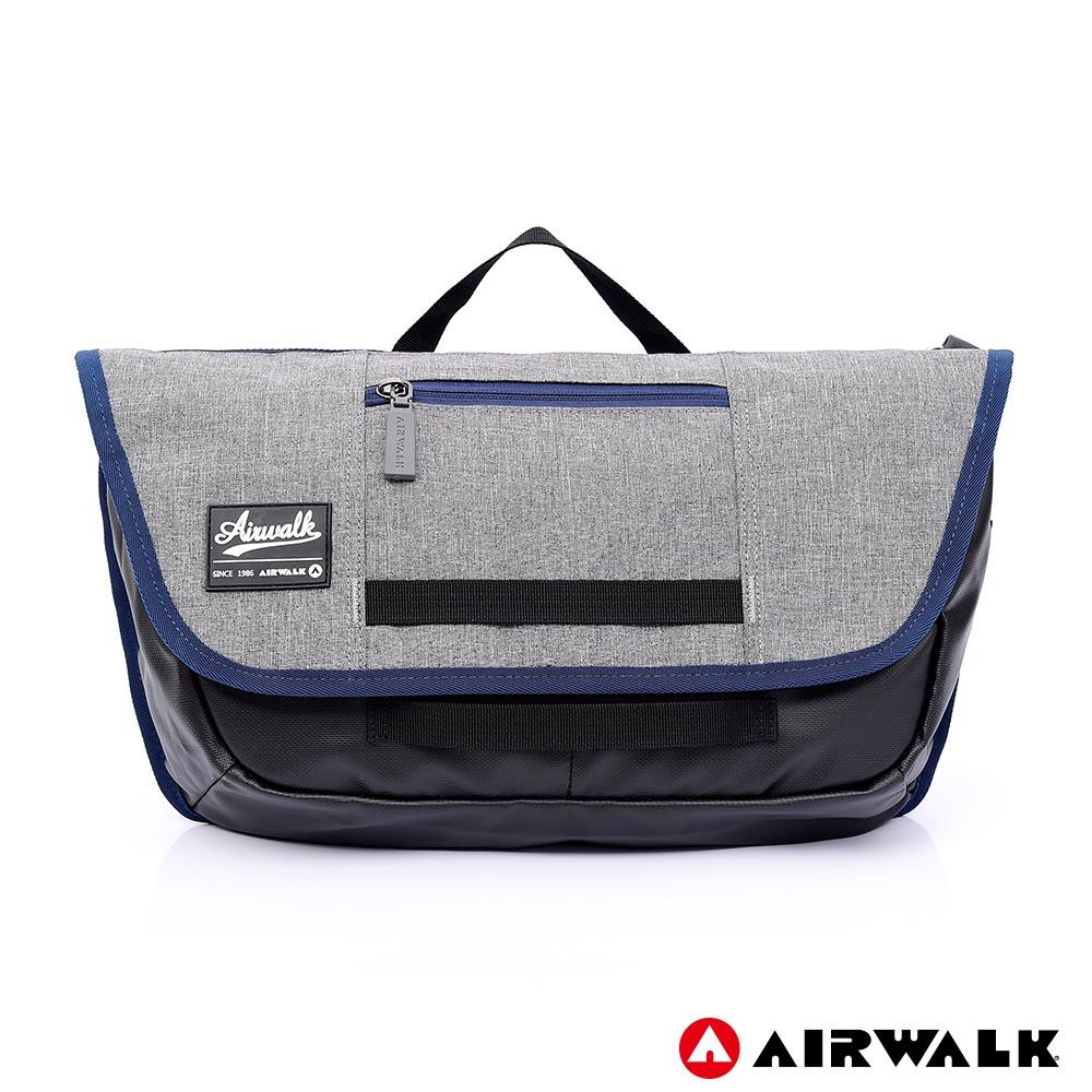 【AIRWALK】率性魅力休閒郵差包-共兩色