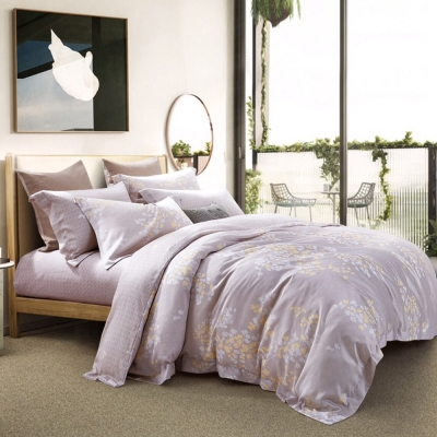 Ania Casa 天絲 TENCEL- 加大鋪棉兩用被套床包四件組- 樹柯