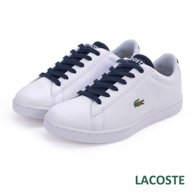 LACOSTE 女用休閒鞋-白色