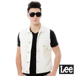 Lee  Regiona牛仔背心男款-米白色