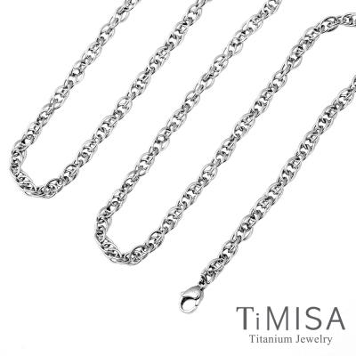 TiMISA 流星雨 粗版 純鈦項鍊(J)