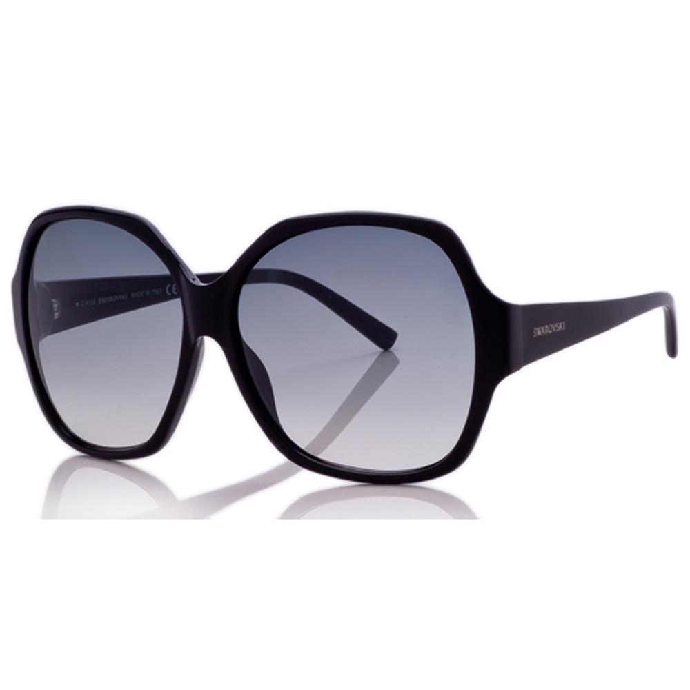 SWAROVSKI-時尚太陽眼鏡(黑/咖啡/粉)SW15