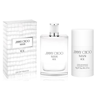 JIMMY CHOO 冷冽男性淡香水50ml(送體香膏75g)