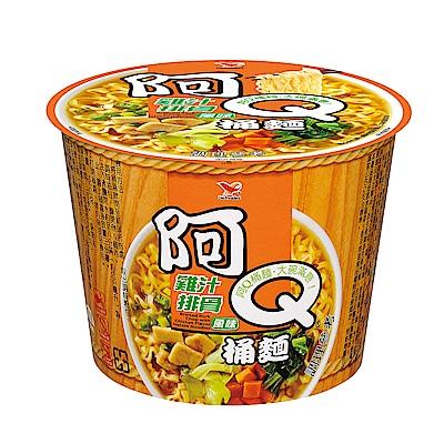 阿Q桶麵 雞汁排骨風味桶(12入/箱)