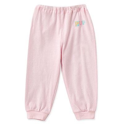 任選-PUP-純棉長褲-粉色