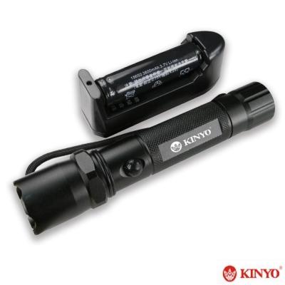 KINYO 120流明鋁合金LED手電筒(LED611)