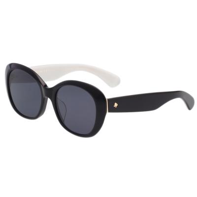 Kate Spade 復古造型 太陽眼鏡 (黑色)