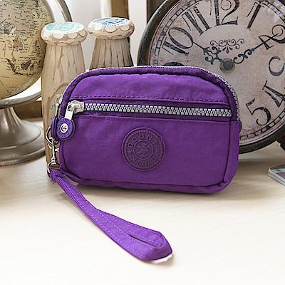 COUNT DUCK 美系悠活輕量輕巧零錢包-小-KS-003-紫色