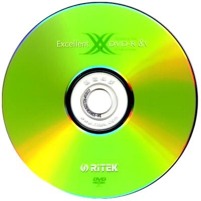 錸德RiTEK二代X系列DVD-R 8X燒錄片(100片)